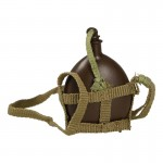 Japanese Canteen with Harness (Brown)