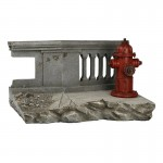Street Ruins Diorama with Bloodshot Box (Grey)