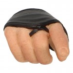Caucasian Male Hand with Protections (Black)