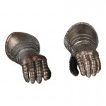 Armored Gloved Hands (Silver)