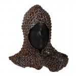 Worn Chain Mail Hood (Grey)