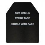 Bevelled Trauma Plate (Black)