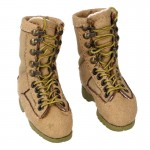 Female Suede Danners Acadia Boots (Sand)