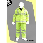 Fluorescence Suit Set (Yellow)