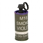 Purple Smoke Grenade (Olive Drab)