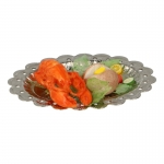 Lobster and Vegetables with Diecast Plate (Orange)