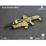 Mk16 Scar Assault Rifle (Sand)