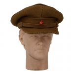 Officer Visor Cap (Brown)
