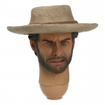 Clint Eastwood Headsculpt with Hat