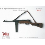 Wooden Diecast MP41 Submachinegun (Grey)