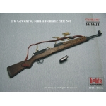 Wooden Diecast Gewehr 43 Semi-Automatic Rifle (Brown)