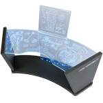 LED Light Up Stark Industries Workshop Test Desk 2.0 (Blue)