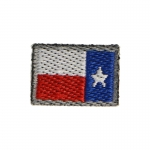 Reverse Texan Flag Patch (Blue)